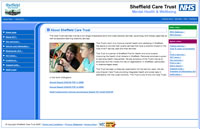 Sheffield Care Trust - Click to visit